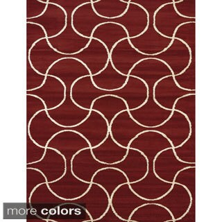 Visions Keira Multi-texture Area Rug (5'3 x 7'2)