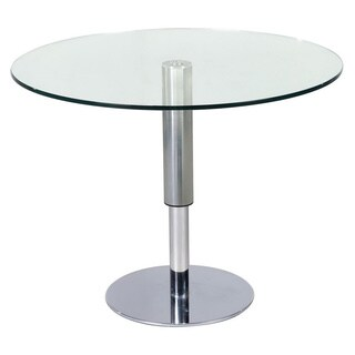 Round Hi-Low Dining Table