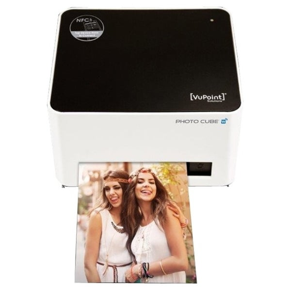 VuPoint Solutions Photo Cube Dye Sublimation Printer - Color - Photo