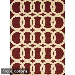 Visions Naomi Multi-texture Area Rug (7'10 x 10'6)