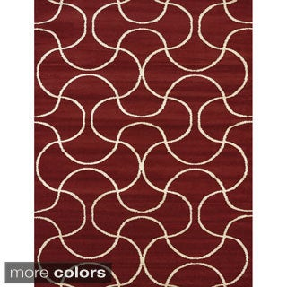 Visions Keira Multi-texture Area Rug (7'10 x 10'6)