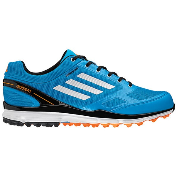 Adidas Men's Adizero Sport II Solar Blue/ White/ Black Golf Shoes