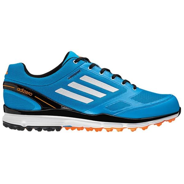 Adidas Men's Adizero Sport II Solar Blue/ White/ Black Golf Shoes