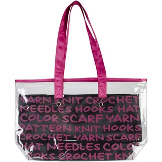 2-In-1 Yarn Tote-Pink