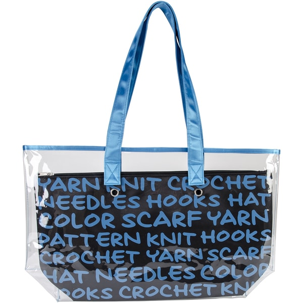 2-In-1 Yarn Tote-Blue