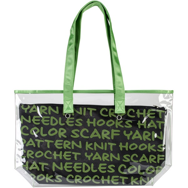 2-In-1 Yarn Tote-Green