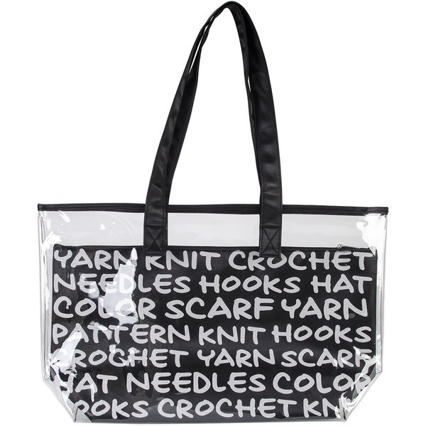 2-In-1 Yarn Tote-Black