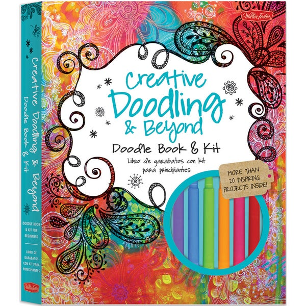 Quarry Books-Creative Doodling & Beyond Book & Kit