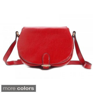Eastide Saddled Leather Crossbody Bag