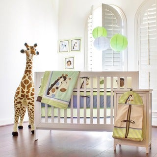 Pam Grace Creations Jayden's Jungle 10-piece Crib Bedding Set