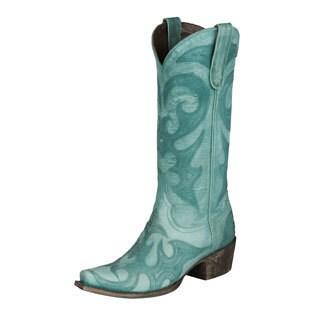 "Lane Boots ""Lovesick"" Women's Turquoise Cowboy Boots"