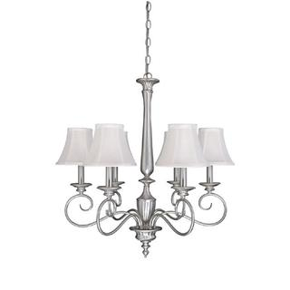 Capital Lighting Hammond Collection 6-light Matte Nickel Chandelier