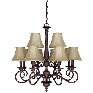 Capital Lighting Hammond Collection 12-light Mediterranean Bronze Chandelier