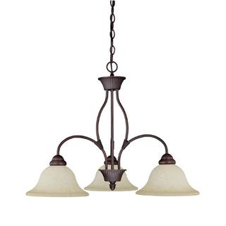 Capital Lighting Hammond Collection 3-light Mediterranean Bronze Chandelier