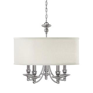 Capital Lighting Midtown Collection 5-light Matte Nickel Chandelier