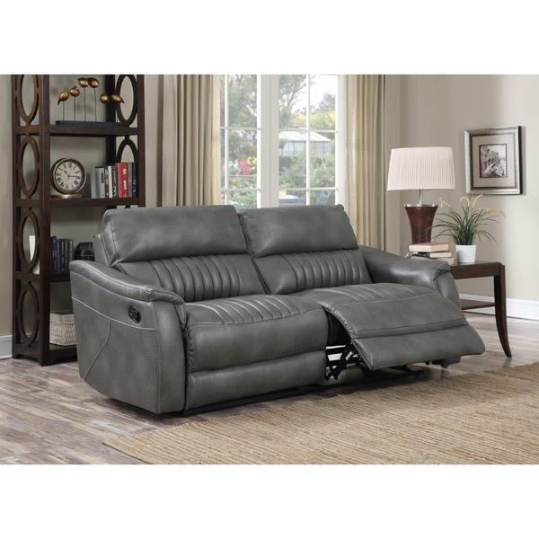 Myles Grey Motion Sofa