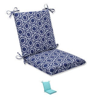 Pillow Perfect Outdoor Ring a Bell Squared Corners Chair Cushion