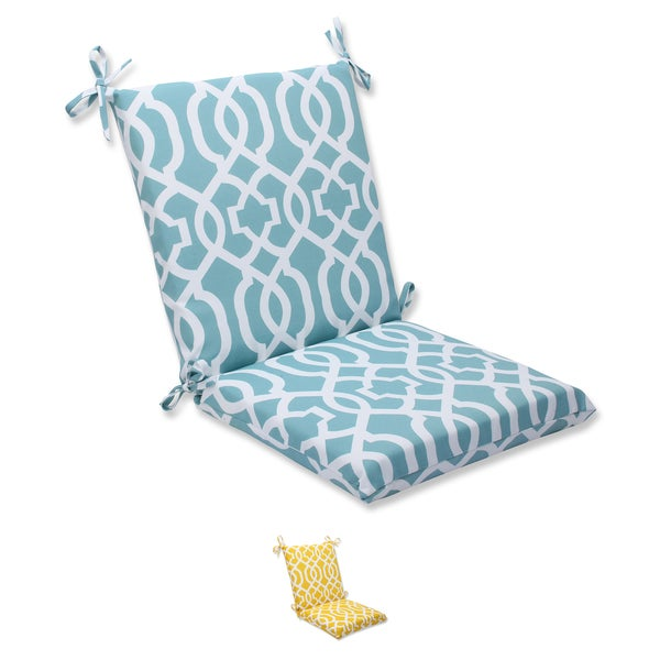 Pillow Perfect Outdoor New Geo Squared Corners Chair Cushion