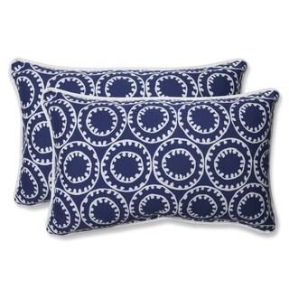 Pillow Perfect Outdoor Ring a Bell Rectangular Throw Pillow (Set of 2)