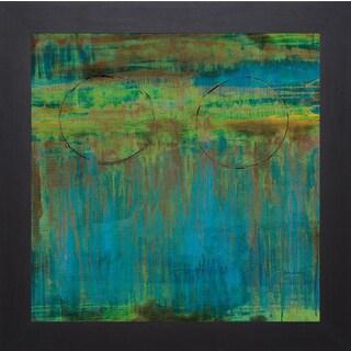 Liz Jardine 'Lime Slice ll' Framed Art Print