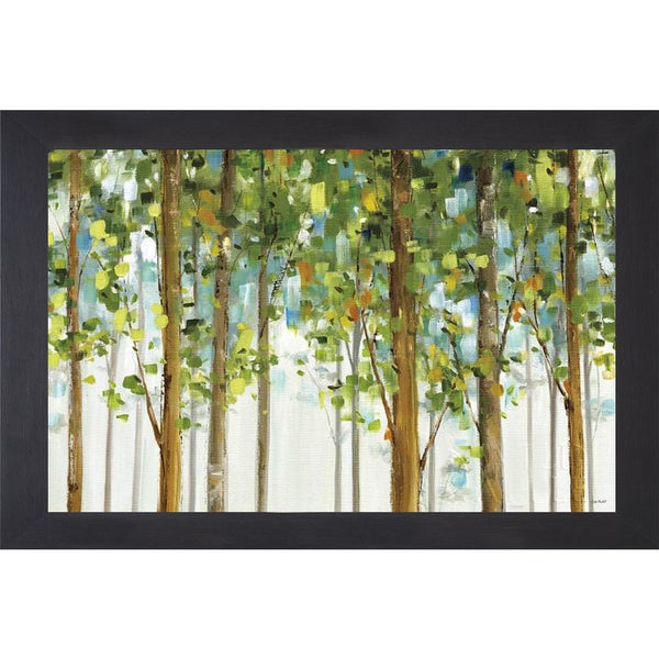 Lisa Audit 'Forest Study I Crop' Framed Art