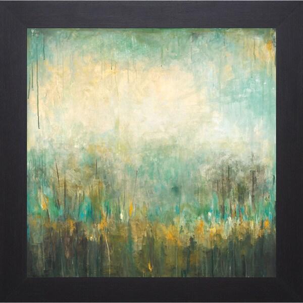 Wani Pasion 'Jardin Vert' Framed Art Print