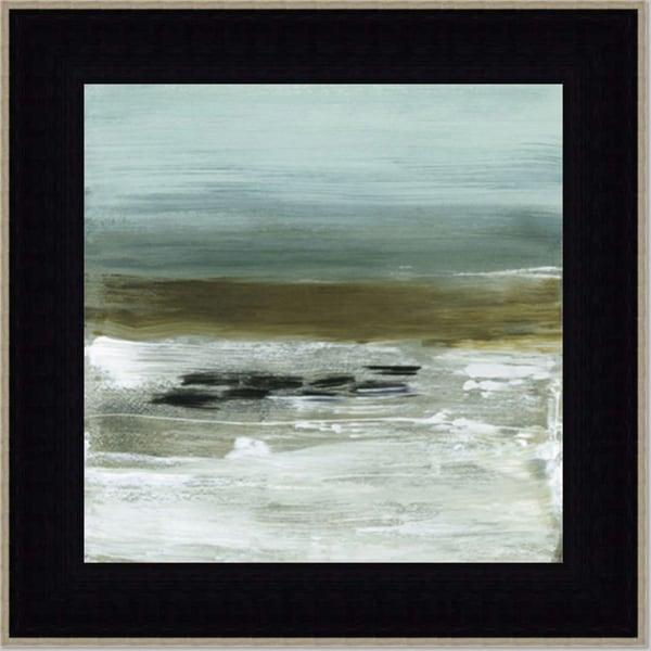 Heather McAlpine, Beach Horizon Framed Art Print, 40 x 40-inches
