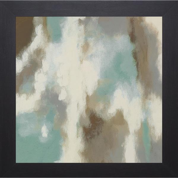 Glistening Waters ll By Rita Vindedzis Framed Art Print (22 x 22)