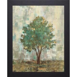 Silvia Vassileva 'Verdi Trees II' Framed Artwork