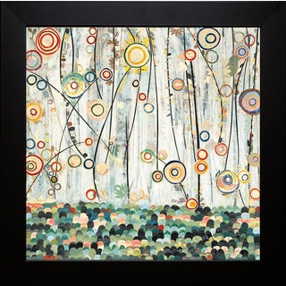 Candra Boggs 'Blooming Meadow' Framed Artwork