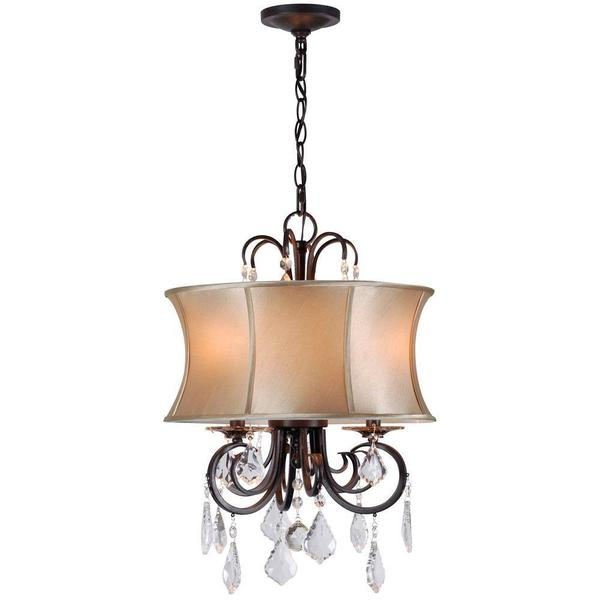 Annelise 3-light Convertible Chandelier