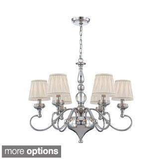 Sophia Collection 6-light/ 8-light Polished Nickel Chandelier