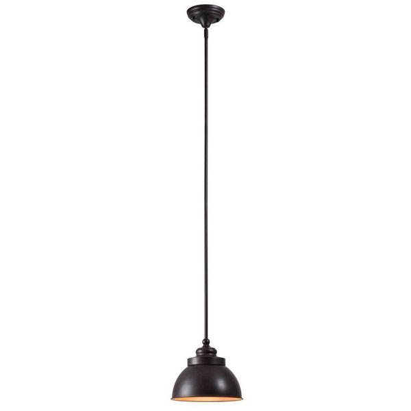 Dark Sky 1-Light Mini Pendant with Metal Shade