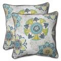Pillow Perfect Outdoor Allodala Oasis 18.5-inch Throw Pillow (Set of 2)