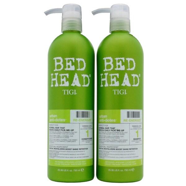 TIGI Re-energize 25.3-ounce Tween Shampoo/ Conditioner Duo