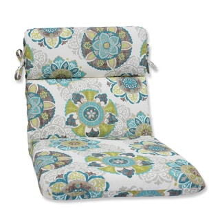Pillow Perfect Outdoor Allodala Oasis Rounded Corners Chair Cushion