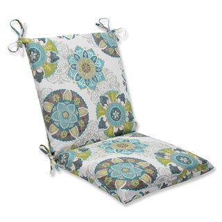 Pillow Perfect Outdoor Allodala Oasis Squared Corners Chair Cushion