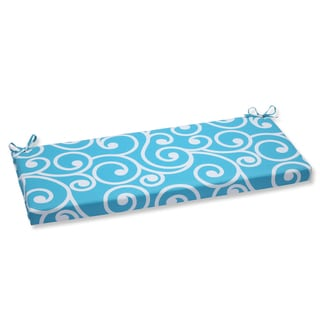 Pillow Perfect Outdoor Best Turquoise Bench Cushion