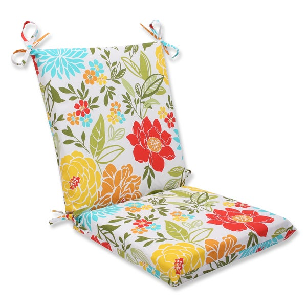 Pillow Perfect Outdoor Spring Bling Multi Squared Corners Chair Cushion