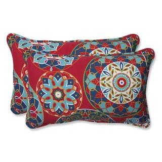Pillow Perfect Outdoor Cera Garden Rectangular Throw Pillow (Set of 2)