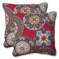 Pillow Perfect Outdoor Cera Garden 18.5-inch Throw Pillow (Set of 2)