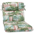 Pillow Perfect Outdoor Key Biscayne Bayou Rounded Corners Chair Cushion