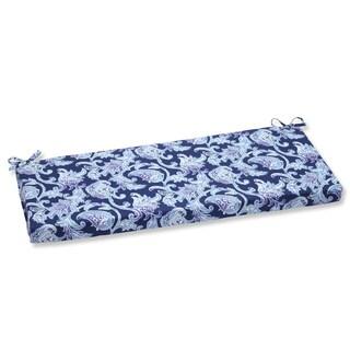 Pillow Perfect Outdoor Lahaye Indigo Bench Cushion