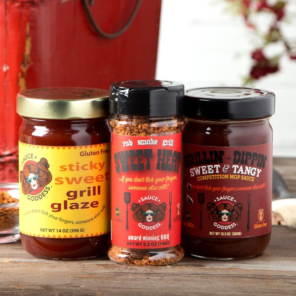 Sauce Goddess Mild Grill Lover's Kit