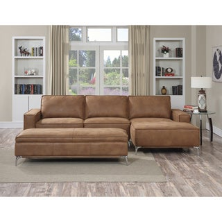 Kobe 3-piece Camel Brown Sectional