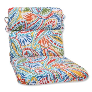 Pillow Perfect Outdoor Ummi Multi Rounded Corners Chair Cushion