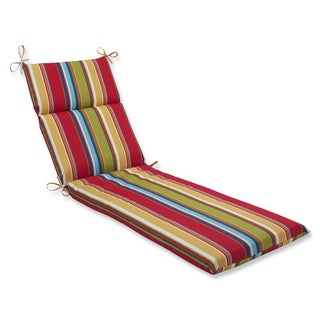 Pillow Perfect Outdoor Westport Garden Chaise Lounge Cushion