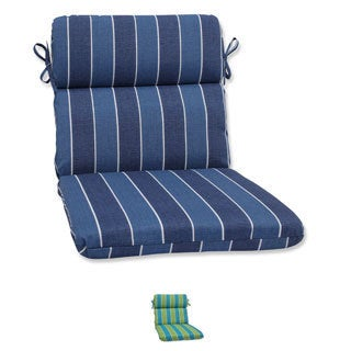 Pillow Perfect Outdoor Wickenburg Rounded Corners Chair Cushion