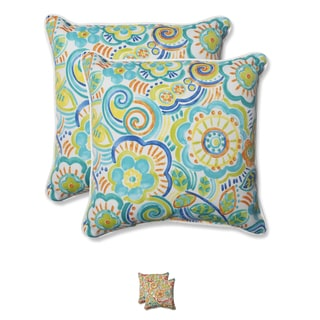 Pillow Perfect Outdoor Bronwood 18.5-inch Throw Pillow (Set of 2)