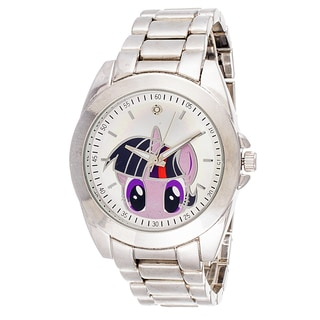 Xtreme Girl's MLP014PU My Little Pony Equestria Twilight Silvertone Watch with Collectible Tin Set